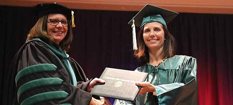 Anne McFarland graduate of PTA program