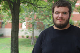 Jeremy Dotson, August 2017 Student of the Month