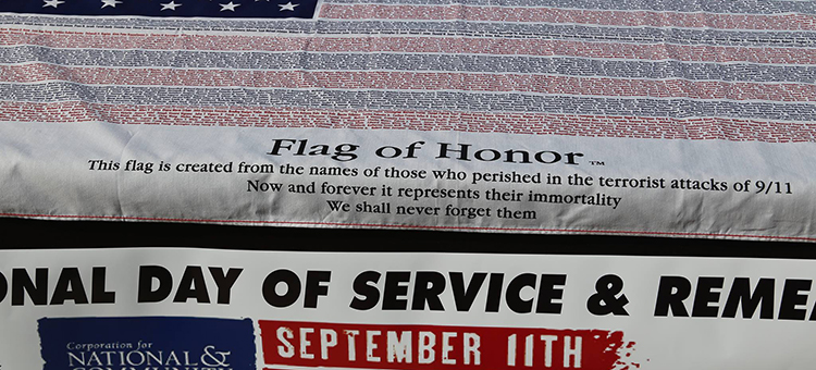National Day of Service & Remembrance Event