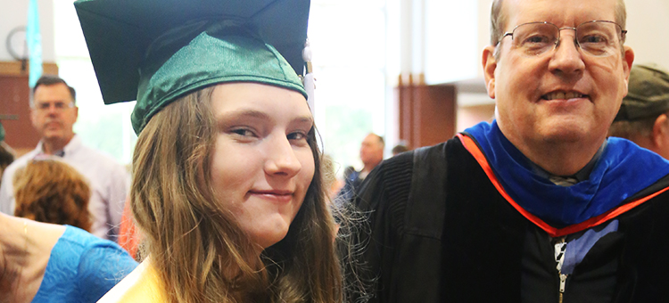 Adelaide Hirschi shares her academic story with Q&A in Marietta Times