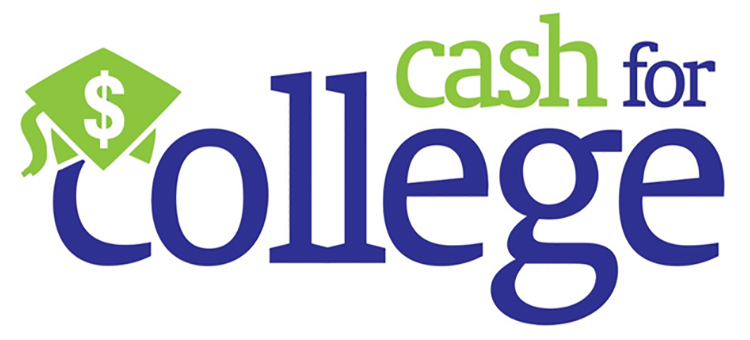 Cash for College event logo
