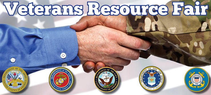 Image of employer shaking the hand of a veteran