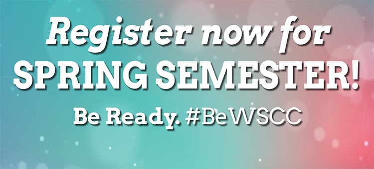 Register for spring semester.