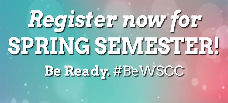 Register for spring semester.