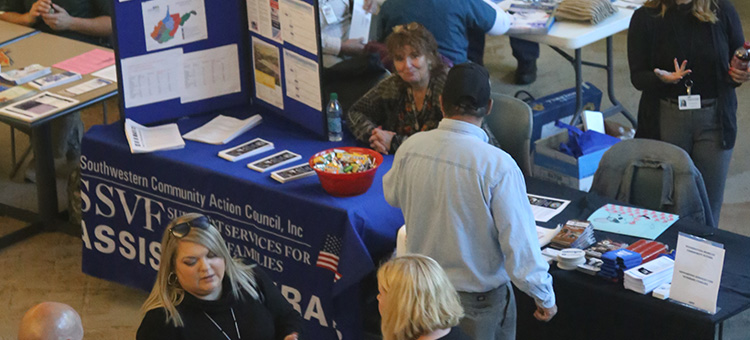 2017 Veterans Resource Fair at WSCC