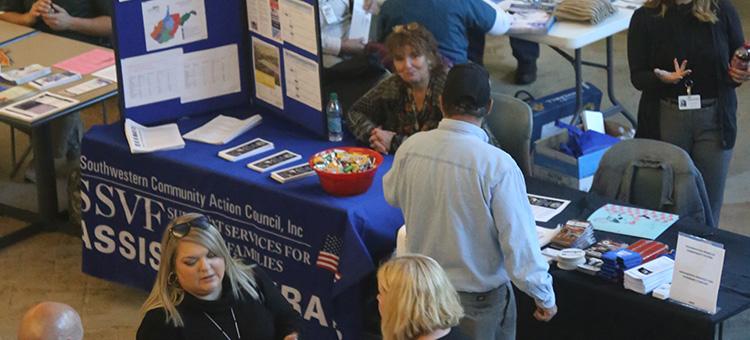 2017 Veterans Resource Fair at WSCC