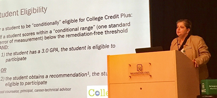 ODHE HOLD COLLEGE CREDIT PLUS UPDATE MEETING AT WSCC