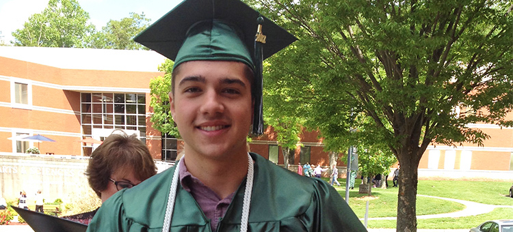 As a junior at Warren High School, Brody Gilliand was among the initial group of 54,000 students from across Ohio who enrolled in CCP in the Fall of 2015. The program is a state initiative designed to provide 7th through 12th-grade students the opportunity to earn college credits at no cost to them.