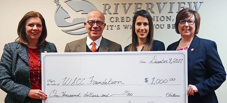 Rivewview Credit Union Establishes Scholarship at WSCC