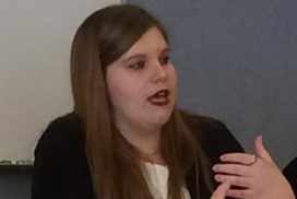 Washington State Community College (WSCC) Honors Program member Sonja Wooge recently traveled to Columbus, Ohio to present a paper at the Mid-East Honors Association Annual (MEHA) Conference. Wooge spoke on the topic of college students caring for their mental and emotional health.