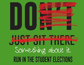 student senate election