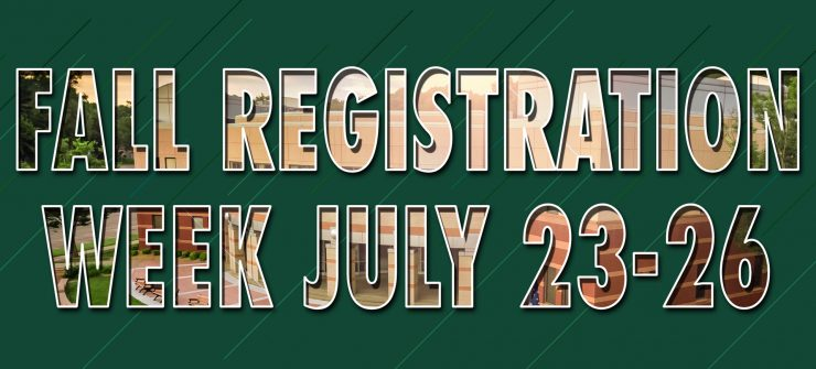 Fall Registration Week