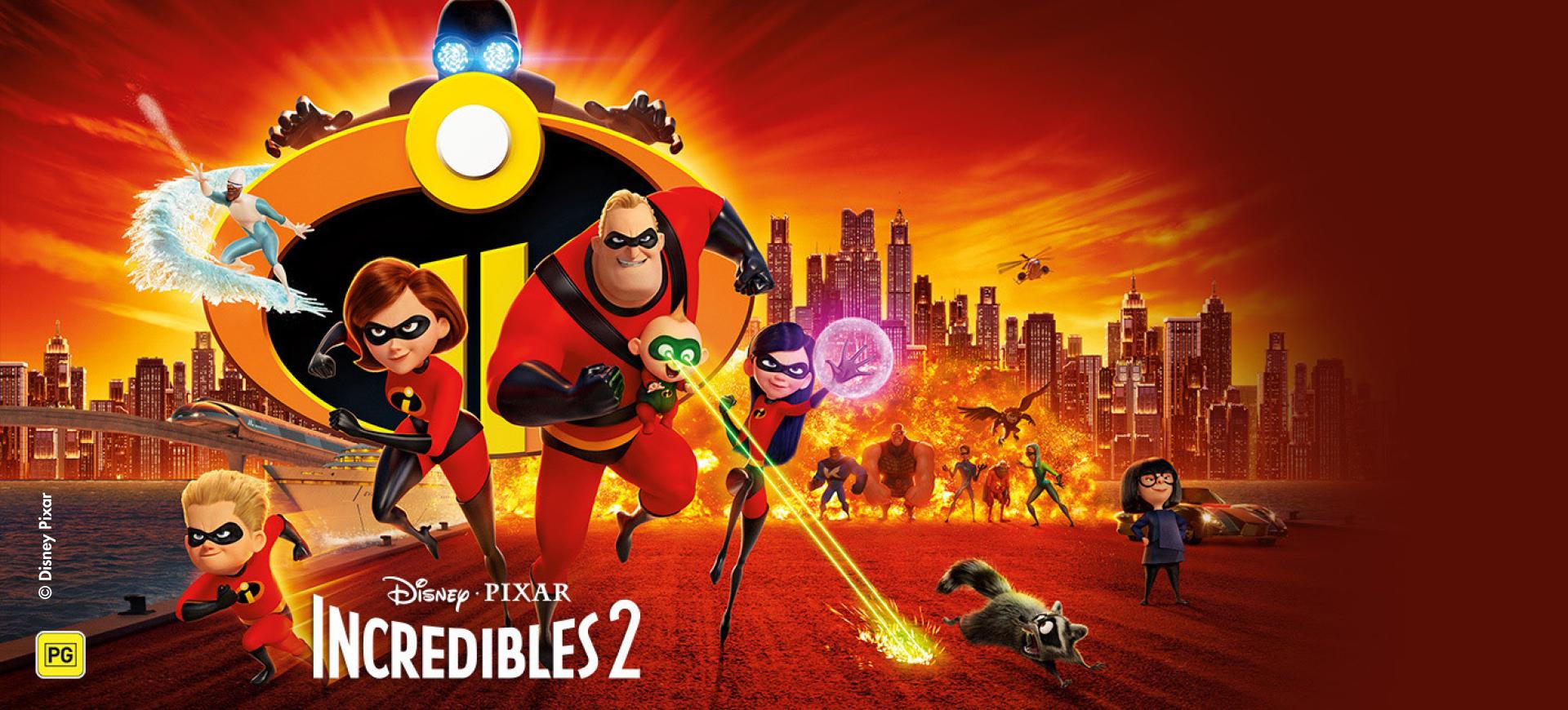 Incredibles 2 movie night