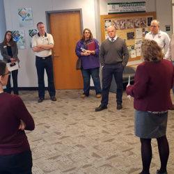 Marietta City Schools tour of campus