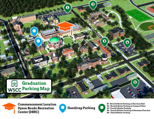 WSCC Commencement Parking