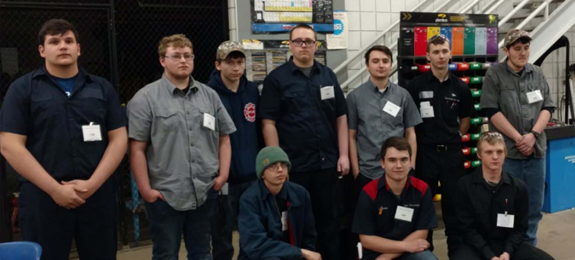 Ten students competed in the SkillsUSA Ohio Regional Automotive Service Technology competition hosted by Washington State Community College. Participants were from Knox County, Swiss Hills, Tri-County, Coshocton County, Buckeye, Washington County, and Mid-East career centers; Jefferson County Joint Vocational School; and Meigs, Morgan, and C-TEC high schools.