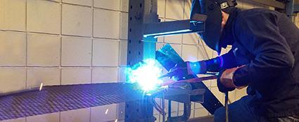 welding shelves