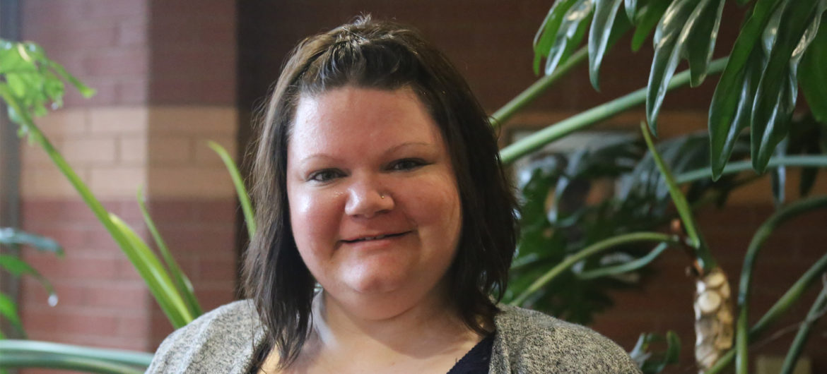 Brittany Pittenger, Associate Degree Nursing Student. WSCC's April 2019 Student of the Month