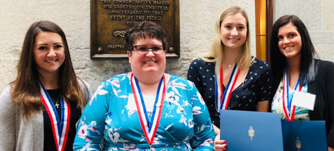 Washington State Community College's (WSCC) chapter of Phi Theta Kappa (PTK), Alpha Rho Gamma, recently received several accolades