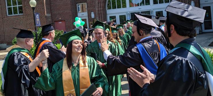 WSCC Recognizes Graduates