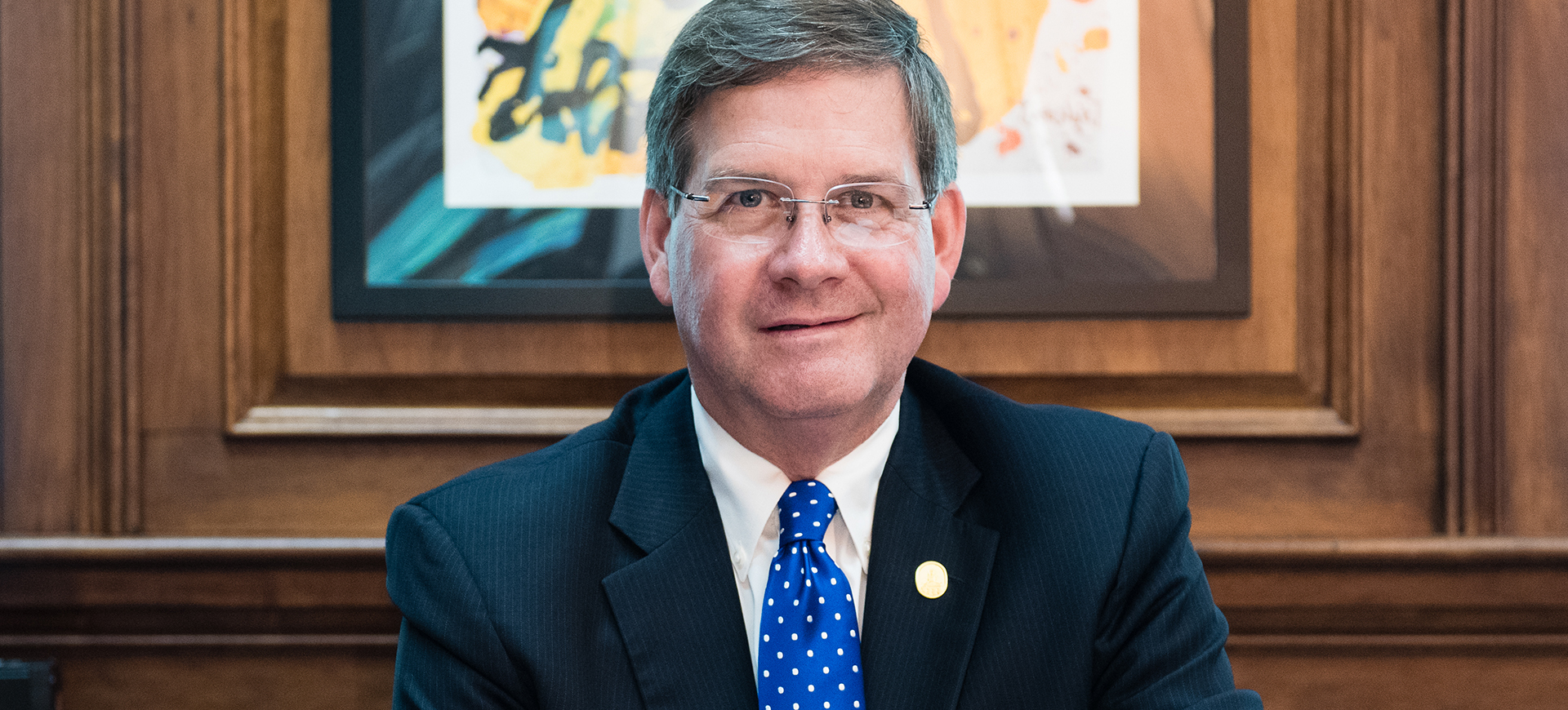 Dr. William Ruud, Marietta College President, will address the Washington State Community College (WSCC) class of 2019 at the college's commencement ceremony on Saturday, May 18, 10 am at the Marietta College Dyson Baudo Recreation Center.