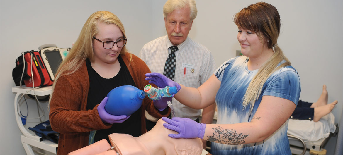 Washington State Community College (WSCC) is proud to announce that its Respiratory Therapy program has been awarded continued accreditation by the Commission on Accreditation for Respiratory Care (CoARC).
