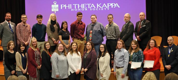 Phi Theta Kappa Welcomes New Members