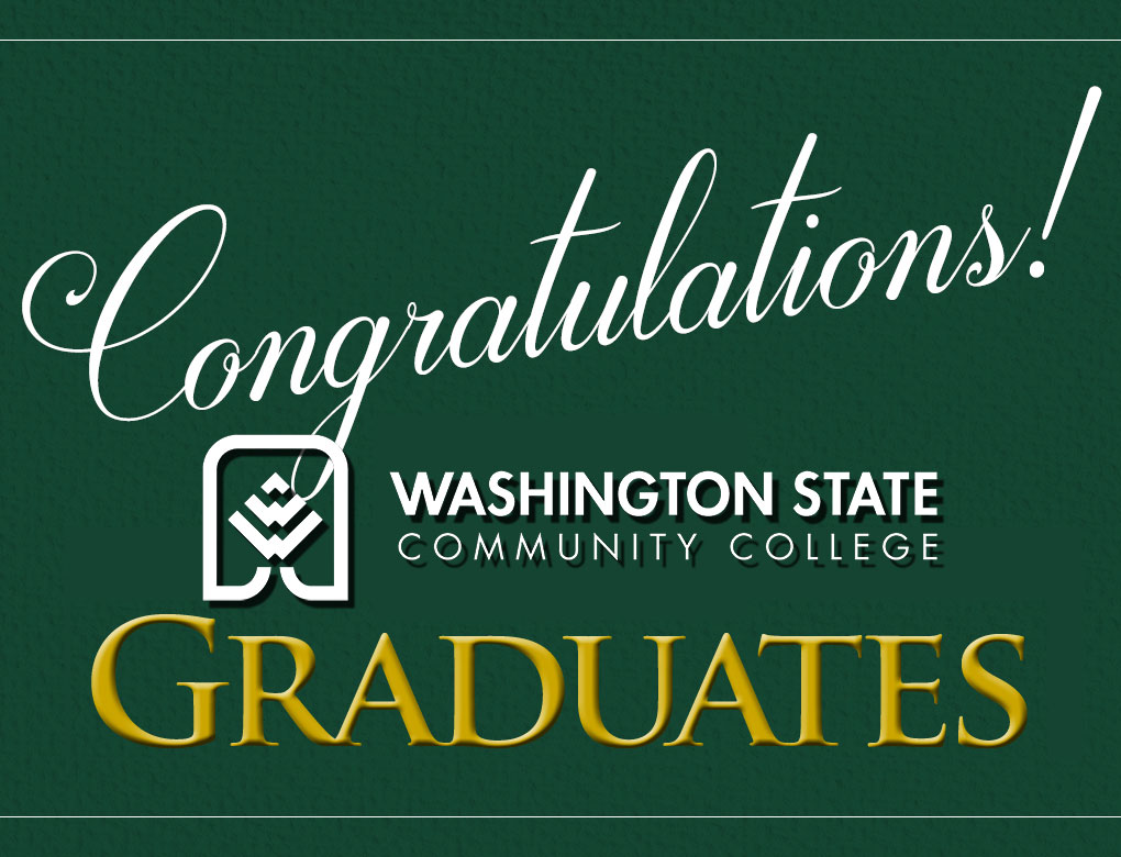 Washington State recognized 324 graduates and awarded 377 degrees and certificates, which includes those students who completed their coursework in summer and fall 2019. Also among the graduates are 32 College Credit Plus (CCP) high school seniors.