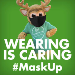 Wearing is Caring - #maskup