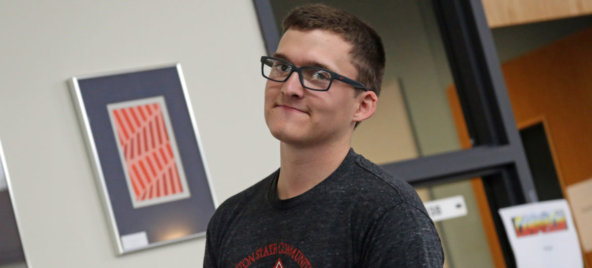 Eli Hunter is an unassuming student at Washington State Community College (WSCC). He makes it his business to do his best in the classroom but needs no accolades for his hard work. His status as WSCC's new Student of the Month is therefore outside his area of comfort. Yet his humble nature makes his chosen career path no surprise.