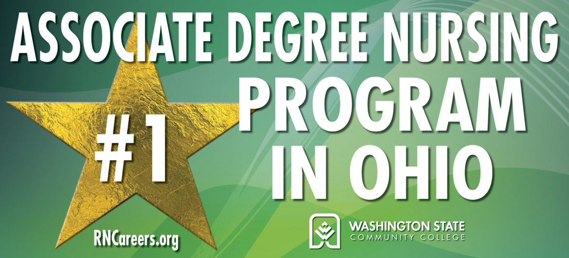 The Associate Degree Nursing (ADN) program at Washington State Community College (WSCC) is again receiving recognition as a top nursing program, both in Ohio and in the nation.