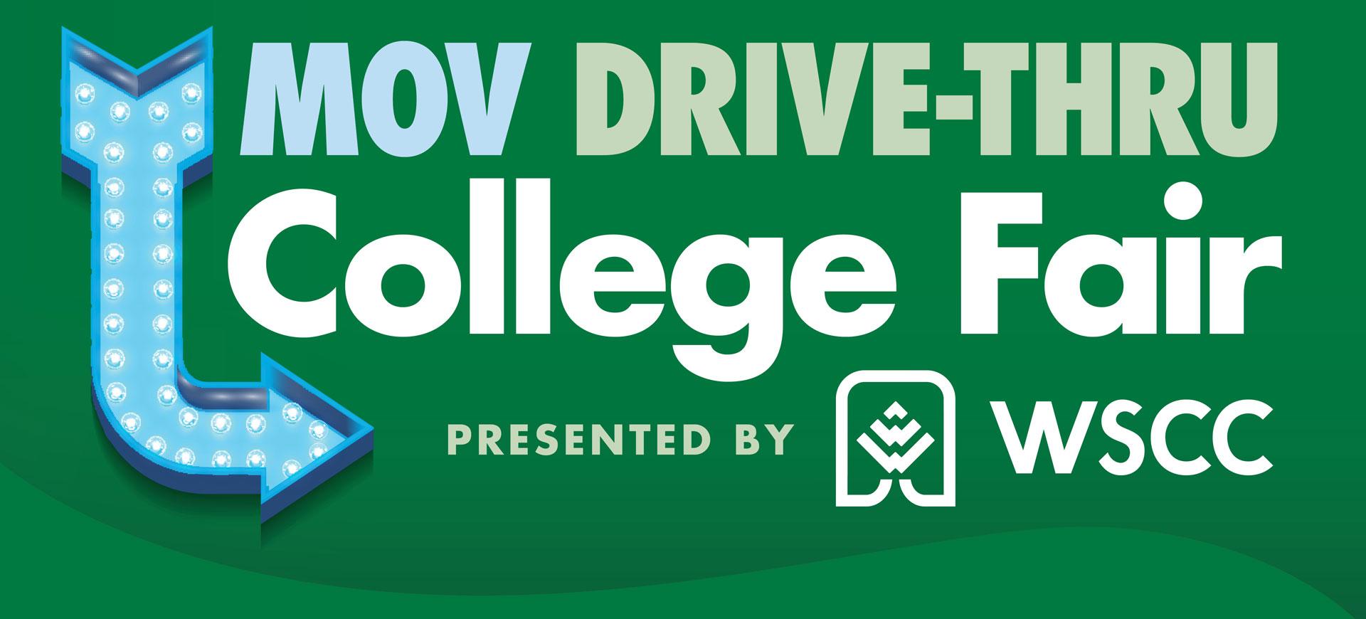 MOV Drive Thru College Fair