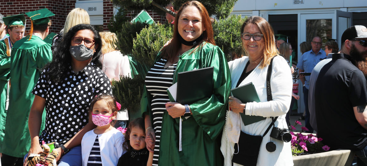 Washington State Community College (WSCC) held its commencement on Saturday, May 15, with a socially distanced ceremony that celebrated the accomplishments of its students and marked the challenges of the last year due to the COVID-19 pandemic.
