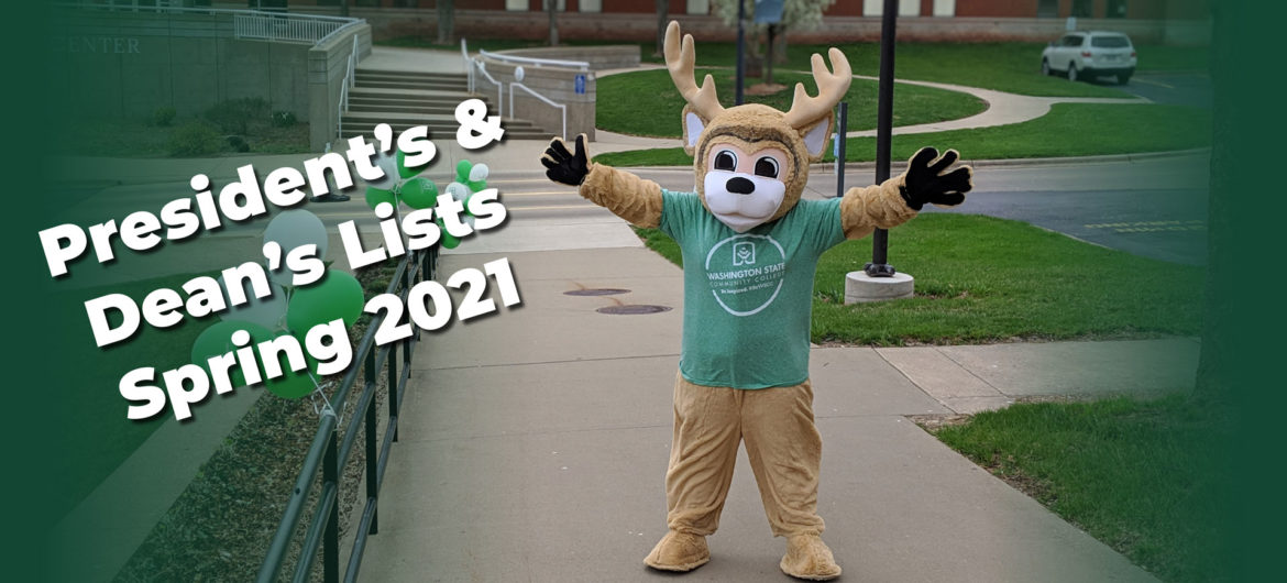 Washington State Community College is pleased to recognize the students who have earned a place on the President's and Dean's lists for the 2021 Spring semester.
