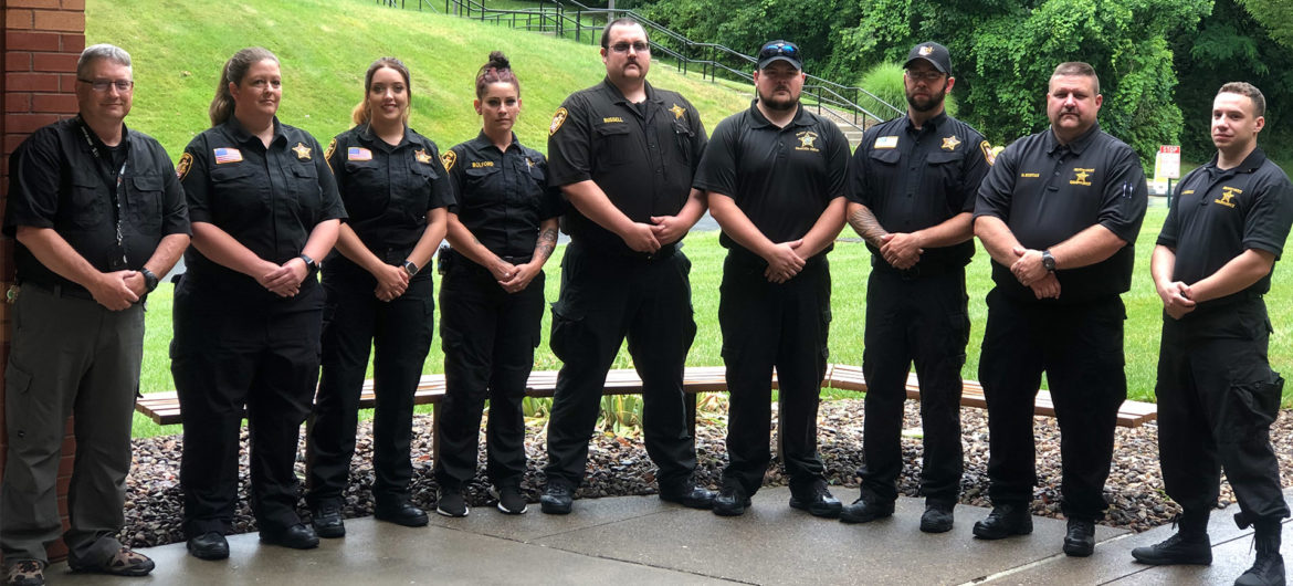 Washington State Community College (WSCC) announced that eight corrections officers from area agencies recently completed the Ohio Corrections Officer Basic Training Academy. The course was certified by the Ohio Peace Officer Training Commission and included 148 hours of training on seven subject areas required for certification to be employed as a Corrections Officer in an Ohio facility.