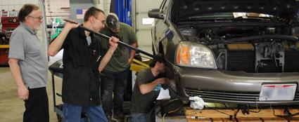 auto diesel students