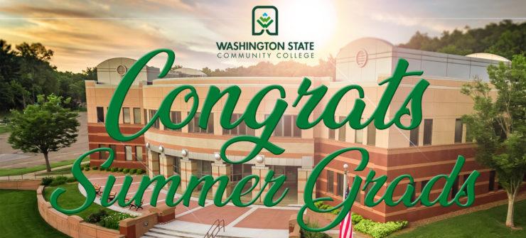 WSCC Celebrates Summer Graduates